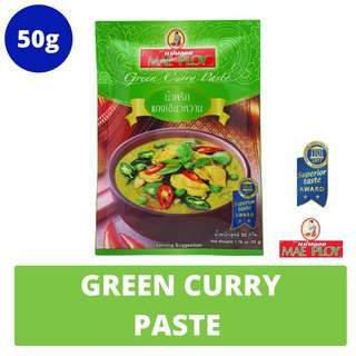 Mae Ploy 50g Green Curry Paste