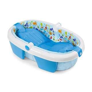 Summer Infant Foldaway Baby Bath (Newborn to Toddler)