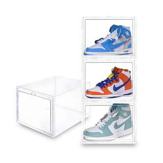 SOLEMATE Drop Lid High-Cut Shoe Box (Pack of 2)