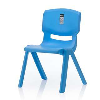 HOUZE Signature Kids Chair with Backrest - Blue