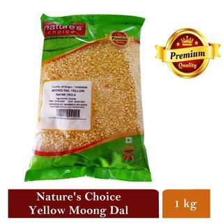Natures Choice Premium Quality Moong Dal Yellow