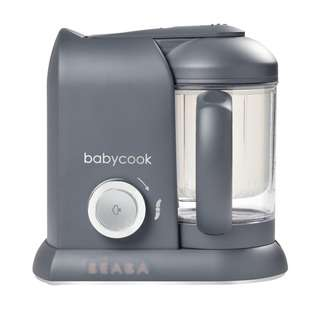 Beaba Babycook Solo Dark Grey - Bs Plug