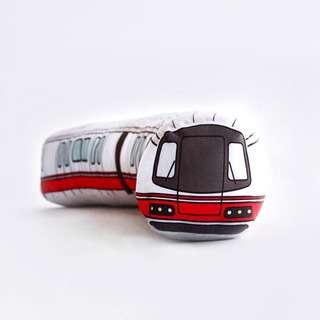 Meykrs Train Bolster Plush