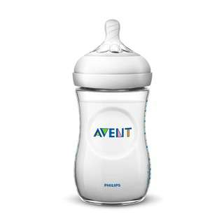 Philips Avent Natural Feeding Bottle - Clear