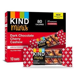 KIND Dark Chocolate & Cherry Cashew Mini Bars