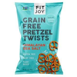 FitJoy Gluten Free Himalayan Pink Salt Pretzels