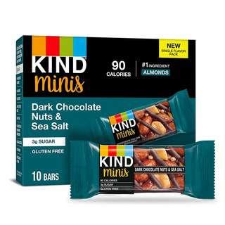 KIND Dark Chocolate, Nuts & Sea Salt Mini Bars