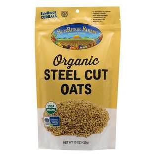SunRidge Farms Organic Steel Cut Oats