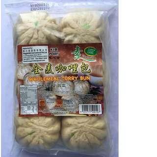 Kim point Wholemeal Curry Bun (6pcs)