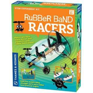 Thames & Kosmos Rubber Band Racers, STEM Kit