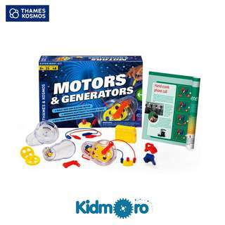 Thames & Kosmos Motor and Generators, STEM Kit