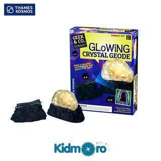 Thames & Kosmos Glowing Crystal Geode, STEM Kit