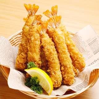 Trutaste Crispy XXL Breaded Shrimp (Ebi Tempura) - 10 Pieces