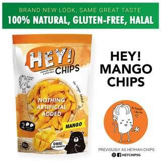 Hey! Chips - Mango (aka HeyHah, 100% Natural, Gluten-Free)