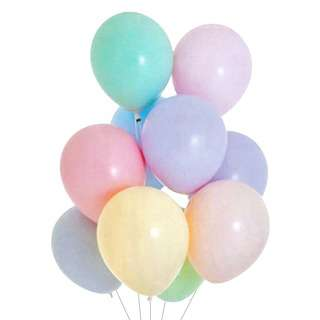 HOUZE Mix Candy Colour Balloons (Set of 10)