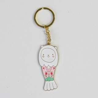 Red Republic Merlion ChouChou Outfit Keychains
