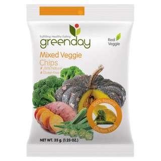 Greenday Snacks Mixed Veggie (Crispy Veg)