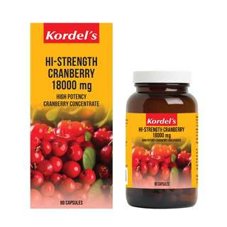 KORDEL'S HIGH STRENGTH CRANBERRY 18000 mg 90S