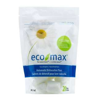 Ecomax Hypoallergenic Automatic Dishwasher Pacs