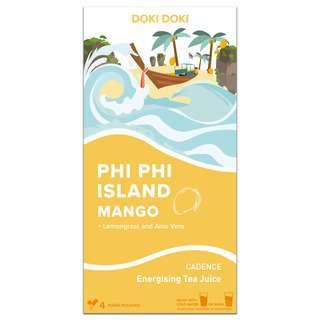 DOKI DOKI CADENCE Tea Juice - Phi Phi Mango