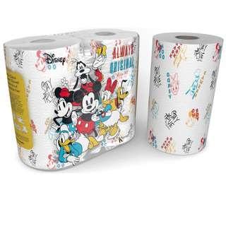 DISNEY ST Mickey & Minnie Kitchen Towel (75s X 2)