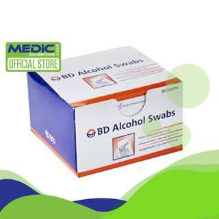 BD Alcohol Swabs 326894 100s - By Medic Drugstore