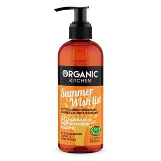 Organic Kitchen Natural Mood Enhancing Shower Gel