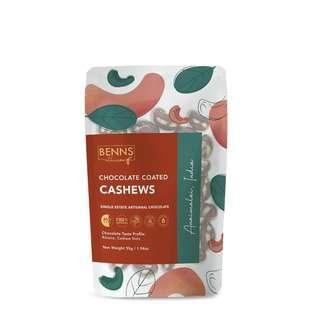 Benns Ethicoa Chocolate Coated Cashews - Anaimalai