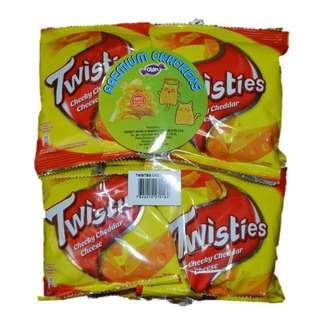 Twisties Twisties Cheese 8x15g
