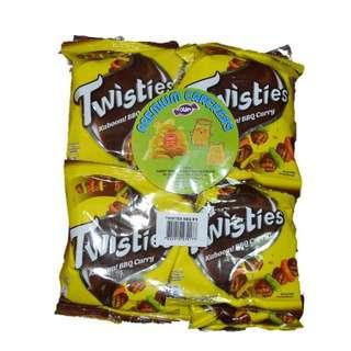 Twisties Twisties BBQ 8x15g