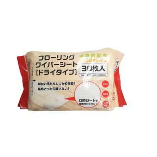 Nomi Japan Floor Wipes Dry 30 Sheets Cleans fine Dust & Hair