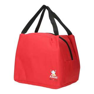 Amark Bento Insulated Lunch Bag (Red)