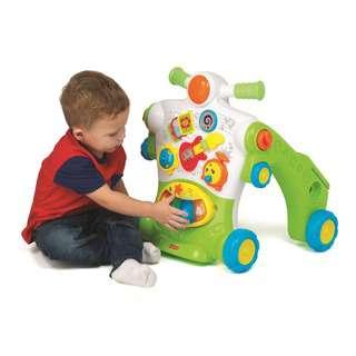Hap-P-Kid Little Learner 3-In-1 Musical Ride On Walker
