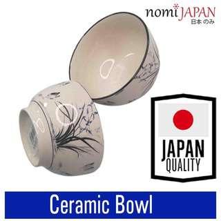 Nomi Japan Ceramic Rice Bowl 4.5 inch