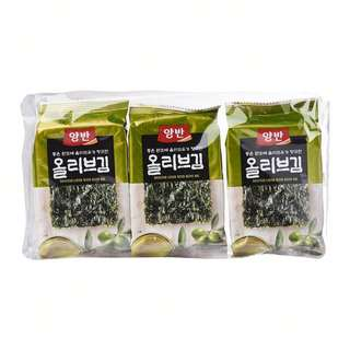 Dongwon YangBan Seasoned Seaweed Laver With Olive Oil