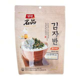 Dongwon YangBan Premium Roasted Seaweed Laver with Anchovy