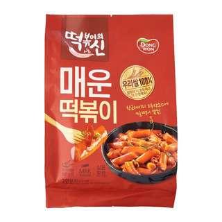 Dongwon Korean Rice Cake Topokki - Hot & Spicy