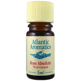 Atlantic Aromatics Rose Absolute 7% in Coconut