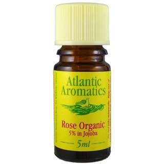Atlantic Aromatics Rose Organic Essential Oil 5% in Jojoba