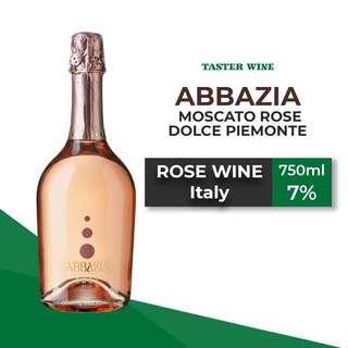 Abbazia Moscato Rose Dolce Piemonte (Rose) 7%