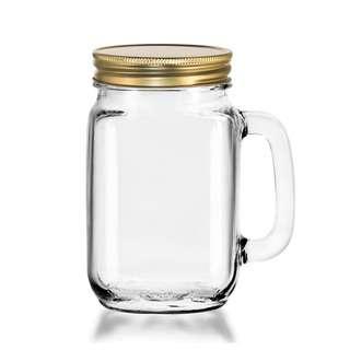 Libbey County Fair 97084 Glass Drinking Mason Jar 473ml/16oz