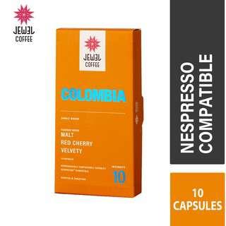 Jewel Coffee Nespresso Coffee Capsules - Colombia (10pc)