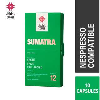 Jewel Coffee Nespresso Coffee Capsules - Sumatra (10pc)