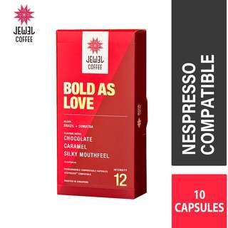 Jewel Coffee Nespresso Coffee Capsules - Bold As Love (10pc)