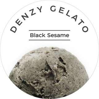 Denzy - Black Sesame Gelato
