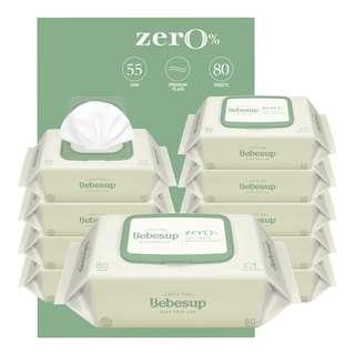 Bebesup Baby Wipes - Zero (Carton)