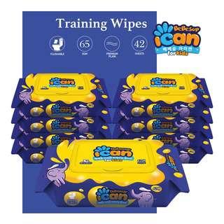 Bebesup Flushable Wet Wipes - ICAN Training Wipes (Carton)