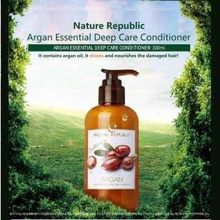 Nature Republic Argan Essential Deep Care Conditioner