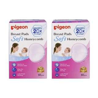 Pigeon Breast Pads Honeycomb 60pcs