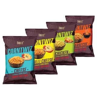 BONZ CORNTWIZ Corn Snack  Assorted Multipack 280G